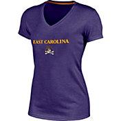 Champion Women's East Carolina Pirates Purple Success V-Neck T-Shirt