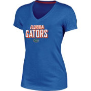 Champion Women's Florida Gators Blue Success V-Neck T-Shirt