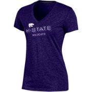 Champion Women's Kansas State Wildcats Purple Success V-Neck T-Shirt