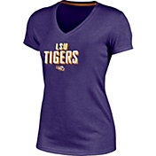 Champion Women's LSU Tigers Purple Success V-Neck T-Shirt