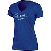 Champion Women's Memphis Tigers Blue Success V-Neck T-Shirt