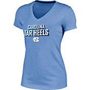 Champion Women's North Carolina Tar Heels Carolina Blue Success V-Neck T-Shirt