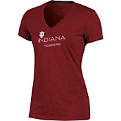 Champion Women's Indiana Hoosiers Crimson Success V-Neck T-Shirt