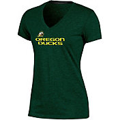 Champion Women's Oregon Ducks Green Success V-Neck T-Shirt