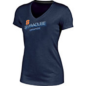 Champion Women's Syracuse Orange Blue Success V-Neck T-Shirt