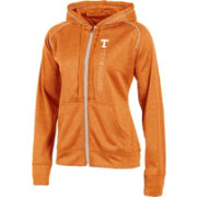 Champion Women's Tennessee Volunteers Tennessee Orange Student Section Full-Zip Hoodie