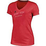 Champion Women's Texas Tech Red Raiders Red Success V-Neck T-Shirt