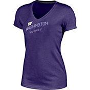 Champion Women's Washington Huskies Purple Success V-Neck T-Shirt