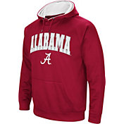 Colosseum Men's Alabama Crimson Tide Crimson Fleece Hoodie