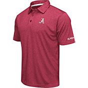 Colosseum Men's Alabama Crimson Tide Crimson Axis Polo