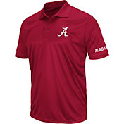 Colosseum Men's Alabama Crimson Tide Crimson Performance Polo