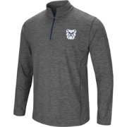 Colosseum Men's Butler Bulldogs Grey Action Pass Quarter-Zip Shirt