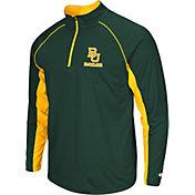 Colosseum Men's Baylor Bears Green Airstream Quarter-Zip Windshirt
