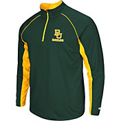 Colosseum Men's Baylor Bears Green Airstream Quarter-Zip
