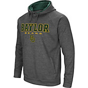 Colosseum Men's Baylor Bears Grey Fleece Hoodie