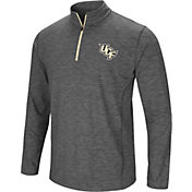 Colosseum Men's UCF Knights Grey Action Pass Quarter-Zip Shirt