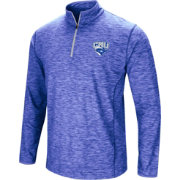 Colosseum Athletics Men's Christopher Newport Captains Royal Blue Action Pass Quarter-Zip Shirt