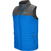 Colosseum Men's UCLA Bruins True Blue/Grey Amplitude Puff Vest