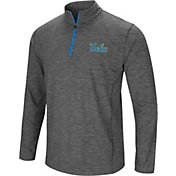 Colosseum Men's UCLA Bruins Grey Action Pass Quarter-Zip Shirt