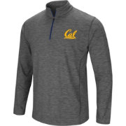 Colosseum Men's Cal Golden Bears Grey Action Pass Quarter-Zip Shirt