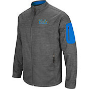 Colosseum Men's UCLA Bruins Grey Anchor Full-Zip Jacket