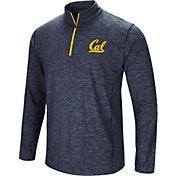 Colosseum Athletics Men's Cal Golden Bears Navy Action Pass Quarter-Zip Shirt