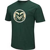 Colosseum Men's Colorado State Rams Green Dual Blend T-Shirt