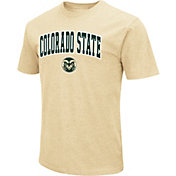 Colosseum Men's Colorado State Rams Gold Dual Blend T-Shirt