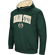 Colosseum Men's Colorado State Rams Green Fleece Hoodie