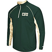 Colosseum Men's Colorado State Rams Green Airstream Quarter-Zip