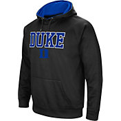 Colosseum Men's Duke Blue Devils Black Performance Hoodie