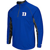 Colosseum Men's Duke Blue Devils Green Airstream Quarter-Zip Windshirt