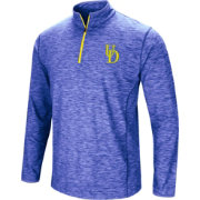Colosseum Athletics Men's Delaware Fightin' Blue Hens Blue Action Pass Quarter-Zip Shirt