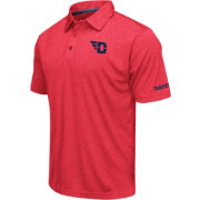 Colosseum Men's Dayton Flyers Red Axis Polo