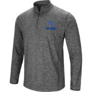 Colosseum Men's Air Force Falcons Grey Action Pass Quarter-Zip Shirt