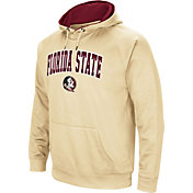 Colosseum Men's Florida State Seminoles Gold Performance Hoodie