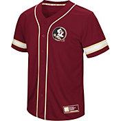 Colosseum Men's Florida State Seminoles Garnet Play Ball Baseball Jersey