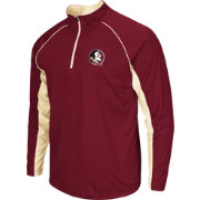 Colosseum Men's Florida State Seminoles Olive Airstream Quarter-Zip Windshirt