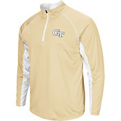 Colosseum Men's Georgia Tech Yellow Jackets Gold Airstream Quarter-Zip Windshirt
