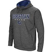 Colosseum Men's Georgetown Hoyas Grey Fleece Hoodie