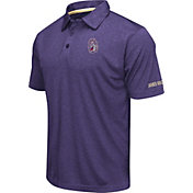 Colosseum Men's James Madison Dukes Purple Axis Polo