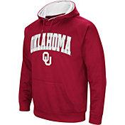 Colosseum Men's Oklahoma Sooners Crimson Fleece Hoodie