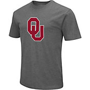 Colosseum Men's Oklahoma Sooners Grey Dual Blend T-Shirt