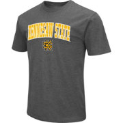 Colosseum Men's Kennesaw State Owls Grey Dual Blend T-Shirt