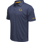 Colosseum Men's Kent State Golden Flashes Navy Blue Axis Polo