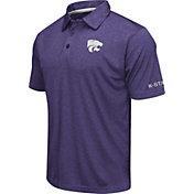 Colosseum Men's Kansas State Wildcats Purple Axis Polo