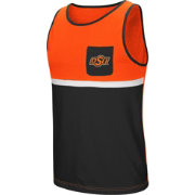 Colosseum Men's Oklahoma State Cowboys Orange/Black Lollygaggers Tank Top