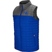 Colosseum Men's Kentucky Wildcats Blue/Grey Amplitude Puff Vest