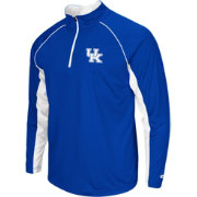 Colosseum Men's Kentucky Wildcats Blue Airstream Quarter-Zip