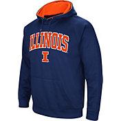 Colosseum Men's Illinois Fighting Illini Blue Fleece Hoodie
